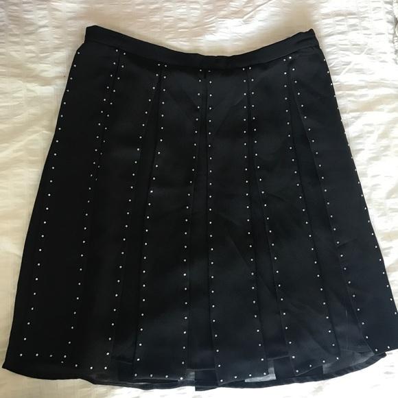 MICHAEL Michael Kors Dresses & Skirts - MICHAEL Michael Kors Black fringe skirt